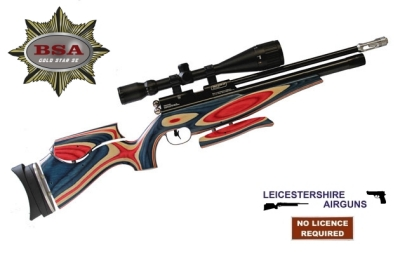BSA Gold Star SE Union Jack pcp air rifle