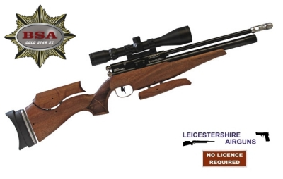 BSA Gold Star SE Walnut pcp air rifle