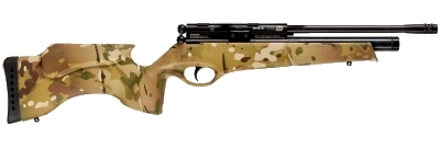 BSA Ultra SE Multicam synthetic stock pcp air rifle