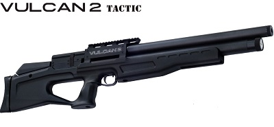 AGT Vulcan 2 Tactic, synthetic stock version pre-charged air rifle