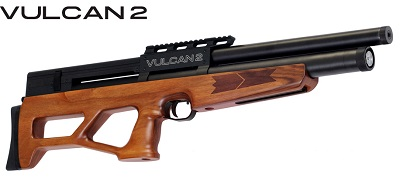 AGT Vulcan 2 bullpup walnut stock version pre-charged air rifle