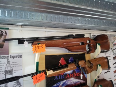 second hand Air Arms S400 target rifle for sale