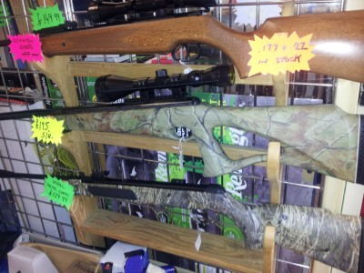 second hand Bemjamin Trail NP gas ram air rifle for sale