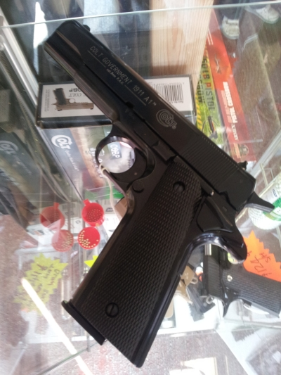 second hand Colt 1911 9mm blank firing pistol for sale