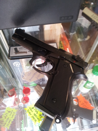 second hand 92f 8mm blank firing pistol for sale
