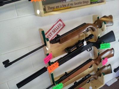 second hand air rifles and air pistols for sale from