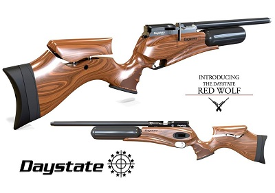 Daystate Red Wolf pre-charged air rifle