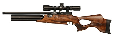 Daystate Wolverine R walnut stock pre-charged air rifle