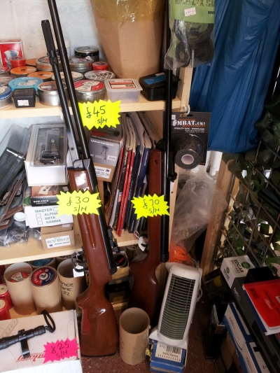 second hand BSA Meteor .22 air rifle for sale