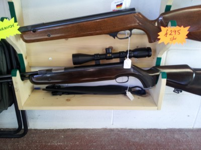 second hand Weihrauch HW77k air rifle for sale