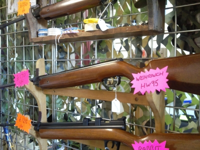 second hand Weihrauch HW95 .22 air rifle for sale
