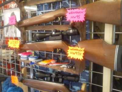 second hand Weihrauch HW97K air rifle for sale