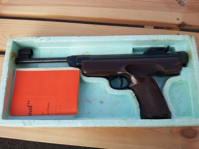 second hand original model 5 air pistol for sale