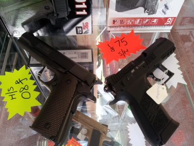 second hand Swiss Arms P1911 air pistol for sale