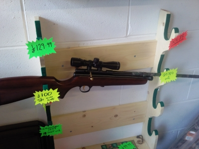 second hand SMK QB78d used air rifle for sale