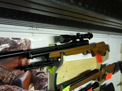 second hand Webley Raider 10 shot used air rifle for sale