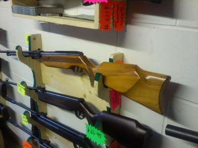 second hand Relum air rifle for sale