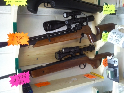 second hand Air Arms S200 pre-charged air rifle for sale