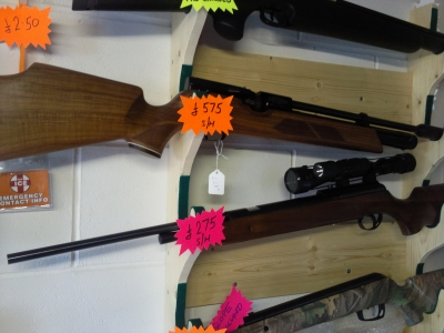 second hand Weihrauch HW100 pre-charged air rifle for sale