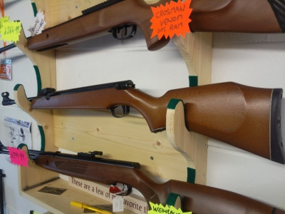 second hand Webley Tracker air rifle for sale