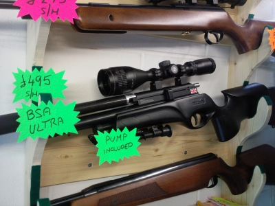 second hand BSA Ultra pcp air rifle for sale
