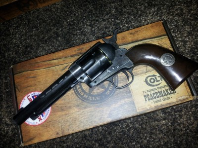 Limited Edition US Marshals Commemoritive Colt Peacemaker