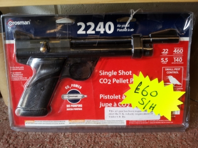 used Crosman 2240 air pistol for sale