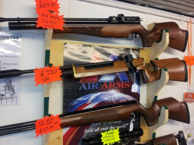 second hand Air Arms S200 air rifle for sale