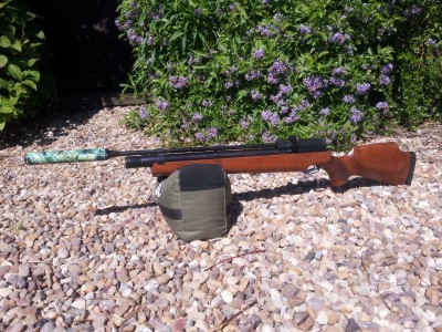 used air arms s310 pre-charged air rifle for sale