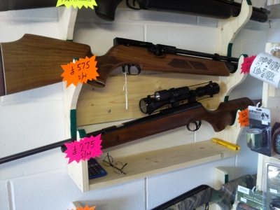 second hand BSA Firebird underlever pre-charged air rifle for sale