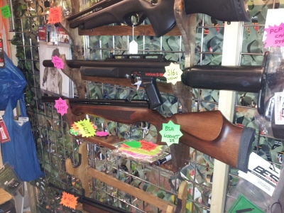 second hand BSA Hornet pre-charged air rifle for sale