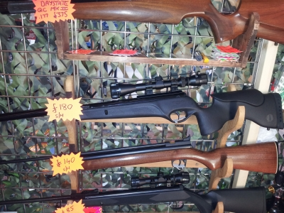 second hand BSA XL Tactical air rifle for sale