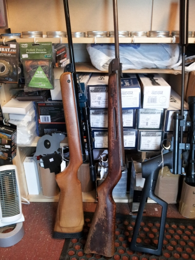 second hand Diana model 27 air rifle for sale
