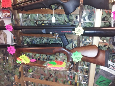 second hand Logun S16s pre-charged air rifle for sale