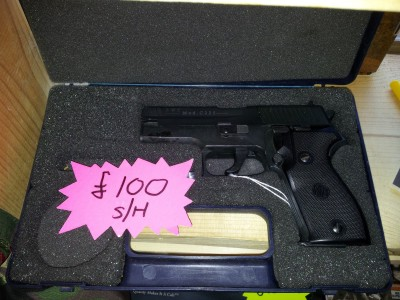 second hand RWS C225 co2 air pistol for sale
