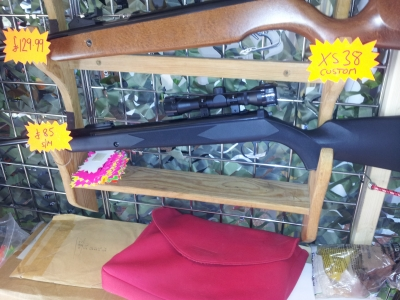 second hand SMK Synsg .177 air rifle for sale