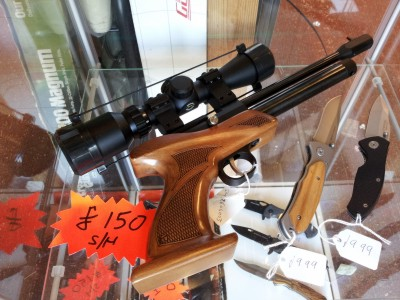 second hand AirForceOne Trophy co2 air pistol for sale