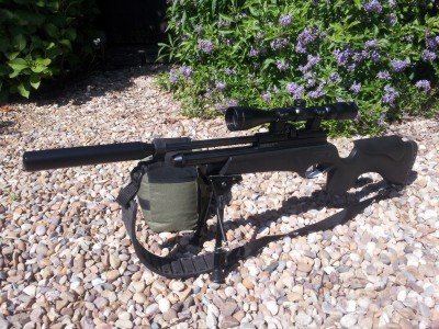 used BSA Ultra pcp air rifle for sale