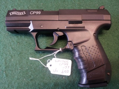 second hand Walther CP99 air pistol for sale