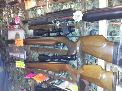 second hand Walther LGU underlever air rifle for sale