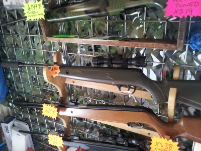 second hand Webley V-max air rifle for sale