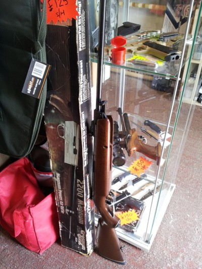 second hand Webley Omega air rifle for sale