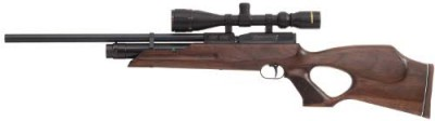 Weihrauch HW100KT FSB pre-charged air rifle with fully shrouded barrel