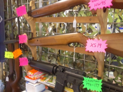second hand SMK XS19 Custom air rifle for sale