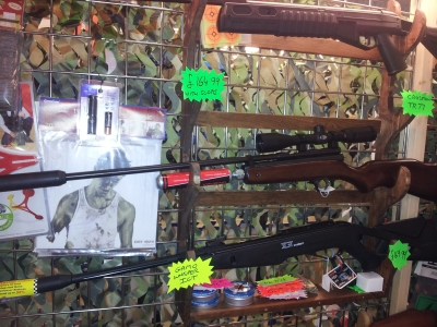 second hand SMK XS79 co2 air rifle for sale